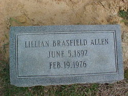 Lillian L. <i>Brasfield</i> Allen