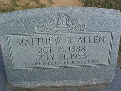 Rev Matthew Ranson Allen