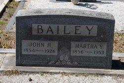 Martha Caroline <i>Yeargin</i> Bailey
