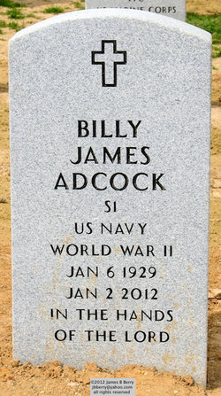 SMN Billy James Adcock