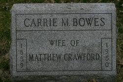 Carrie Mae <i>Bowes</i> Crawford