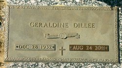 Geraldine <i>Stroud</i> Dillee