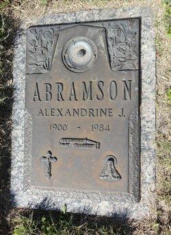 Alexandrine J Abramson