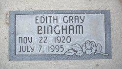 Edith <i>Gray</i> Bingham