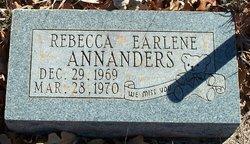 Rebecca Earlene Annanders