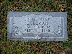 Bobbie Maud Maudie <i>Douglas</i> Coleman