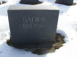 Fr Maurus Bader