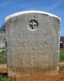 Pvt George Bowman