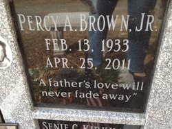 Percy A Brown, Jr