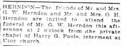 George W. Herndon
