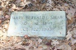Mary Ann <i>Buffaloe</i> Shaw
