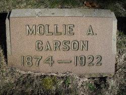 Mollie A. <i>Hausler</i> Carson