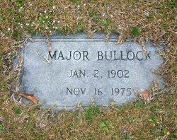 Major Bullock