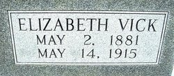 Elizabeth <i>Vick</i> Bryant