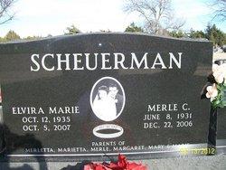 Elvira Marie Scheuerman