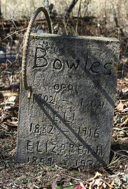 Eli Thomas Bowles