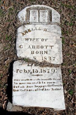 Amelia M <i>Coats</i> Abbott