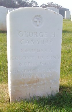Col George Harry Casaday, Sr