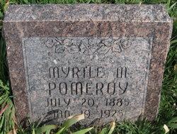 Myrtle Matilda <i>Bales</i> Pomeroy