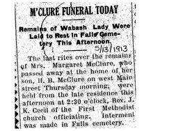 Margaret Jane <i>Larimer</i> McClure