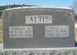 Elsie Isabella <i>Sigman</i> Altis