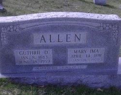 Guthrie D Allen