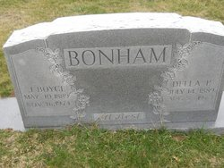 James Boyce Bonham