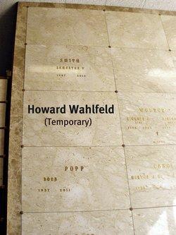 Howard Wessling Wahlfeld