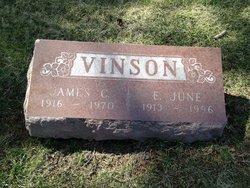 June <i>Lawrie</i> Vinson