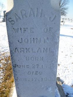 Sarah Jane Sadie Arkland
