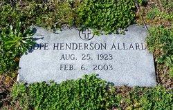 Hope <i>Henderson</i> Allard