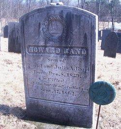 Sgt Howard Rand