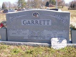 Carol Lee Dukie <i>Wiley</i> Garrett