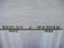 Beulah Belle <i>Johnson</i> Washam