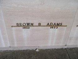 Brown B. Adams