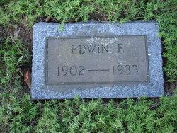 EDWIN F ANDERSON