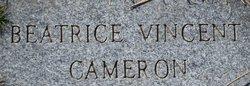 Beatrice Vincent Cameron