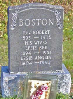 Rev Robert Boston