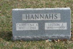 Liston J Hannahs