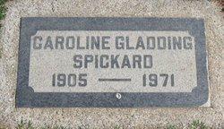 Caroline Jane <i>Gladding</i> Spickard