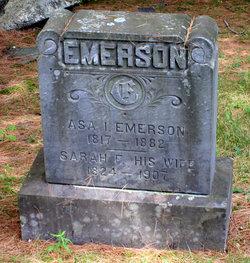 Sarah F Sally <i>Goldthwaite</i> Emerson