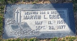 Marvin L Griego