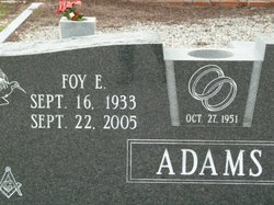 Foy E Adams
