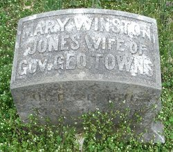 Mary Winston <i>Jones</i> Towns