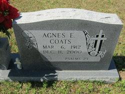 Agnes E Coats