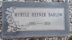 Myrtle Lee <i>Milling</i> Barlow