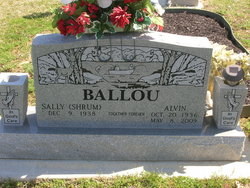 Sally <i>Shrum</i> Ballou