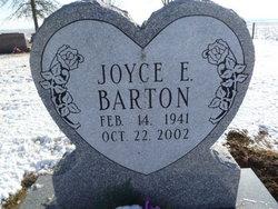 Joyce E Barton