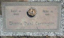 Winnie <i>Dahl</i> Carrington