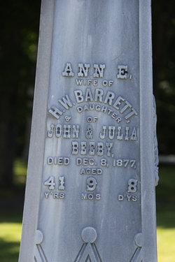 Ann E. <i>Beeby</i> Barrett